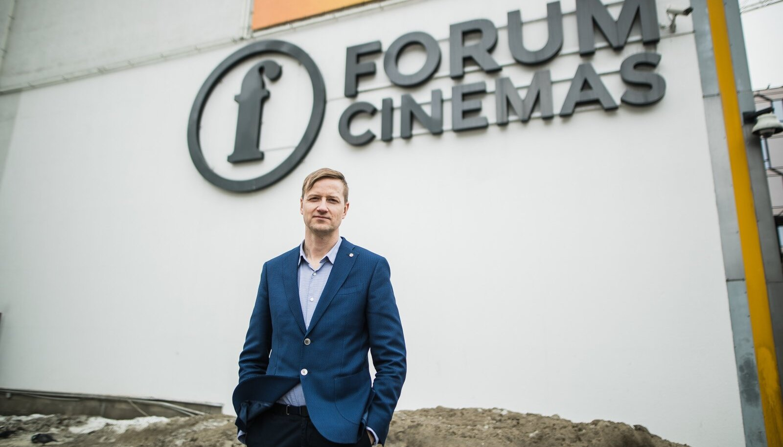 Forum Cinemase juht Kristjan Kongo