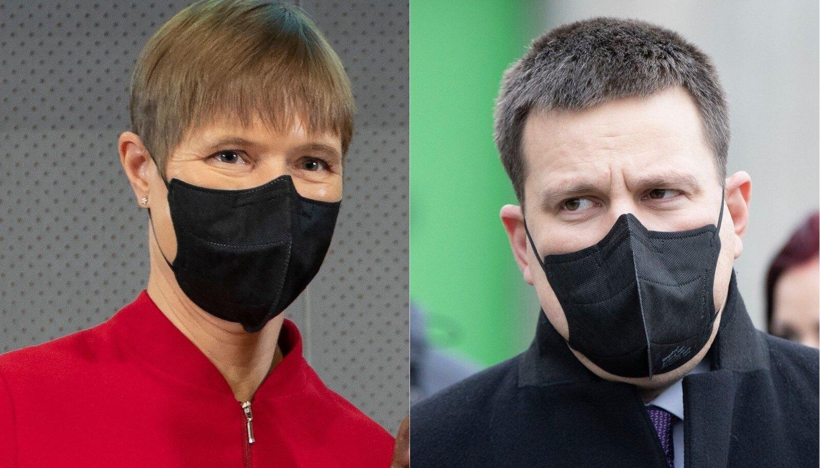 Kersti Kaljulaid ja Jüri Ratas