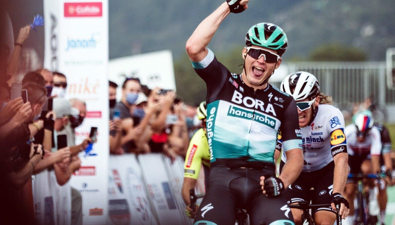 Sloveenia velotuuril kaks etappi võitnud Martin Laas peab Vueltal tiimi liidrit aitama.