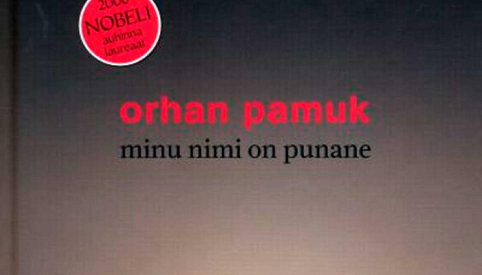 """Orhan Pamuk """"Minu nimi on punane"""""""