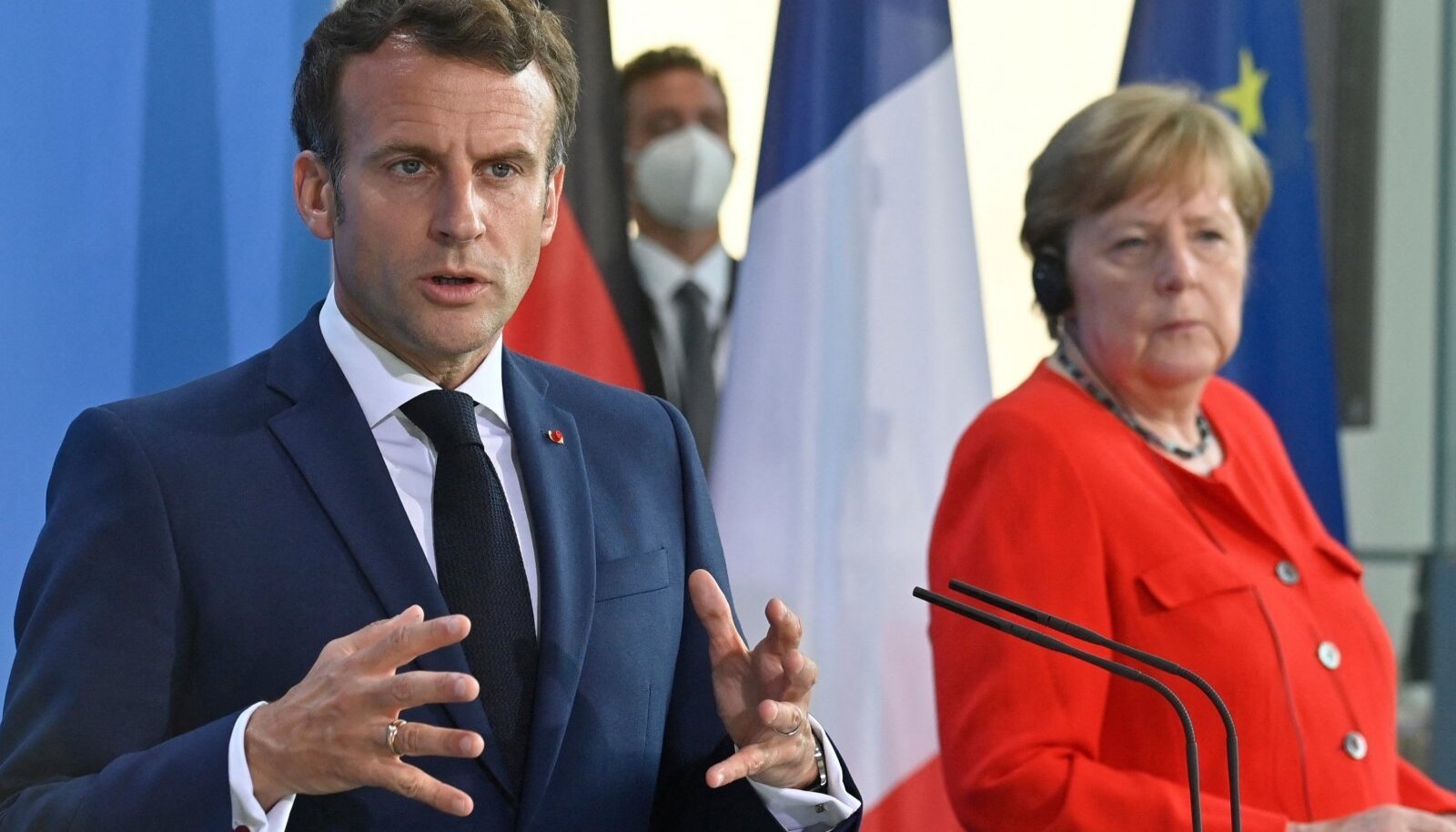 Emmanuel Macron ja Angela Merkel soovivad muu hulgas, et hakataks jälle pidama EL-i ja Vladimir Putini tippkohtumisi.
