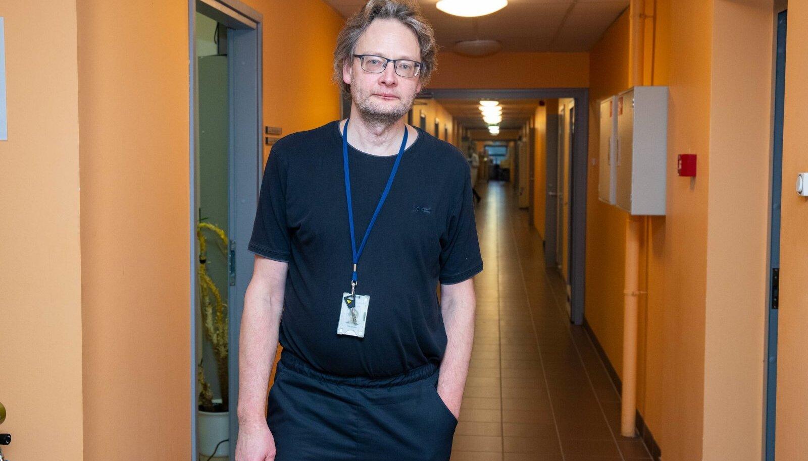 Molekulaarse ökoloogia kaasprofessor Veljo Kisand