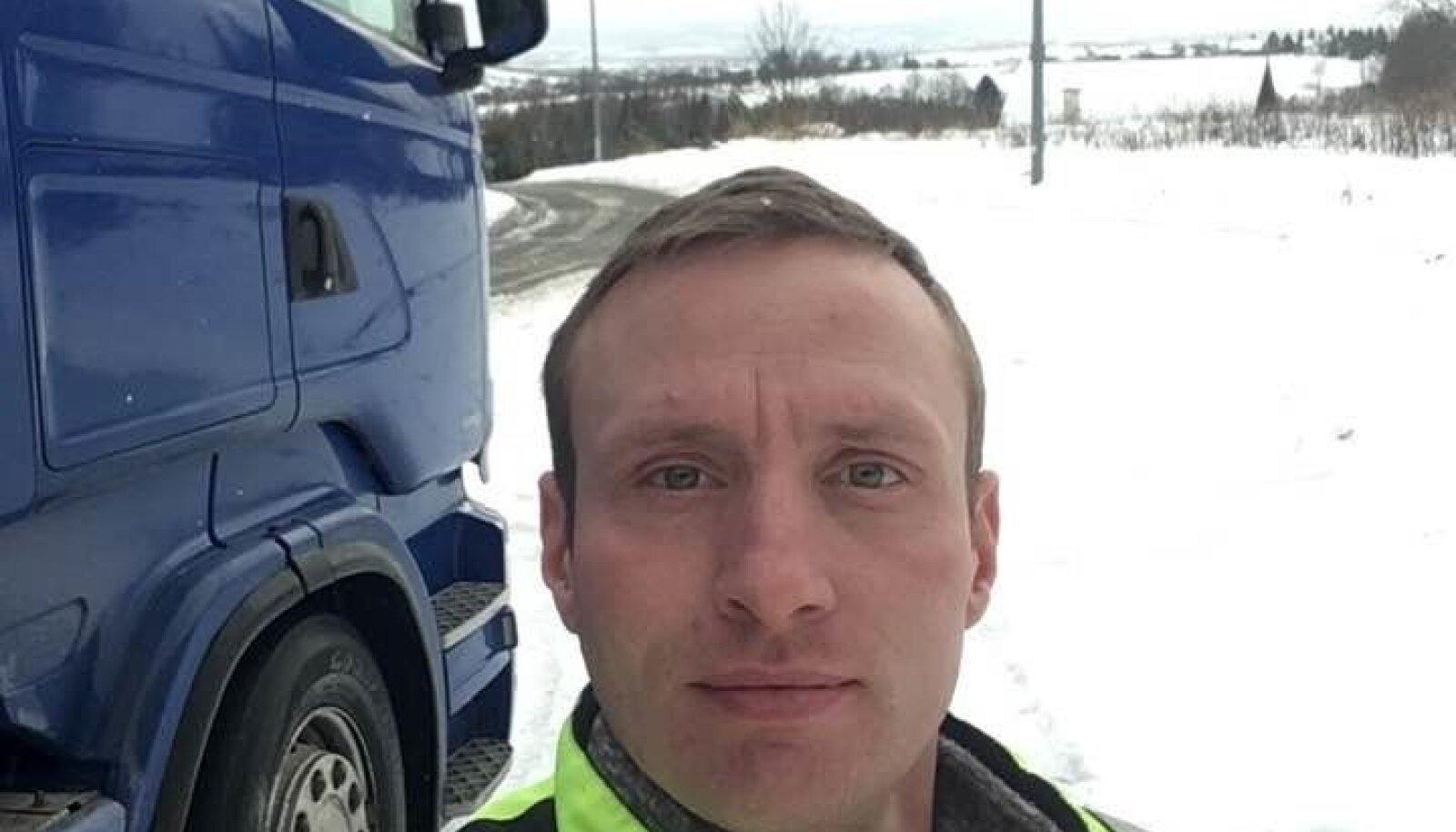 SÕIT: Andres oli oma rekajuhi töö üle uhke. Kohtus tõi ta siiski välja ameti väikese vea: veoautoga ei saavat kihutada.