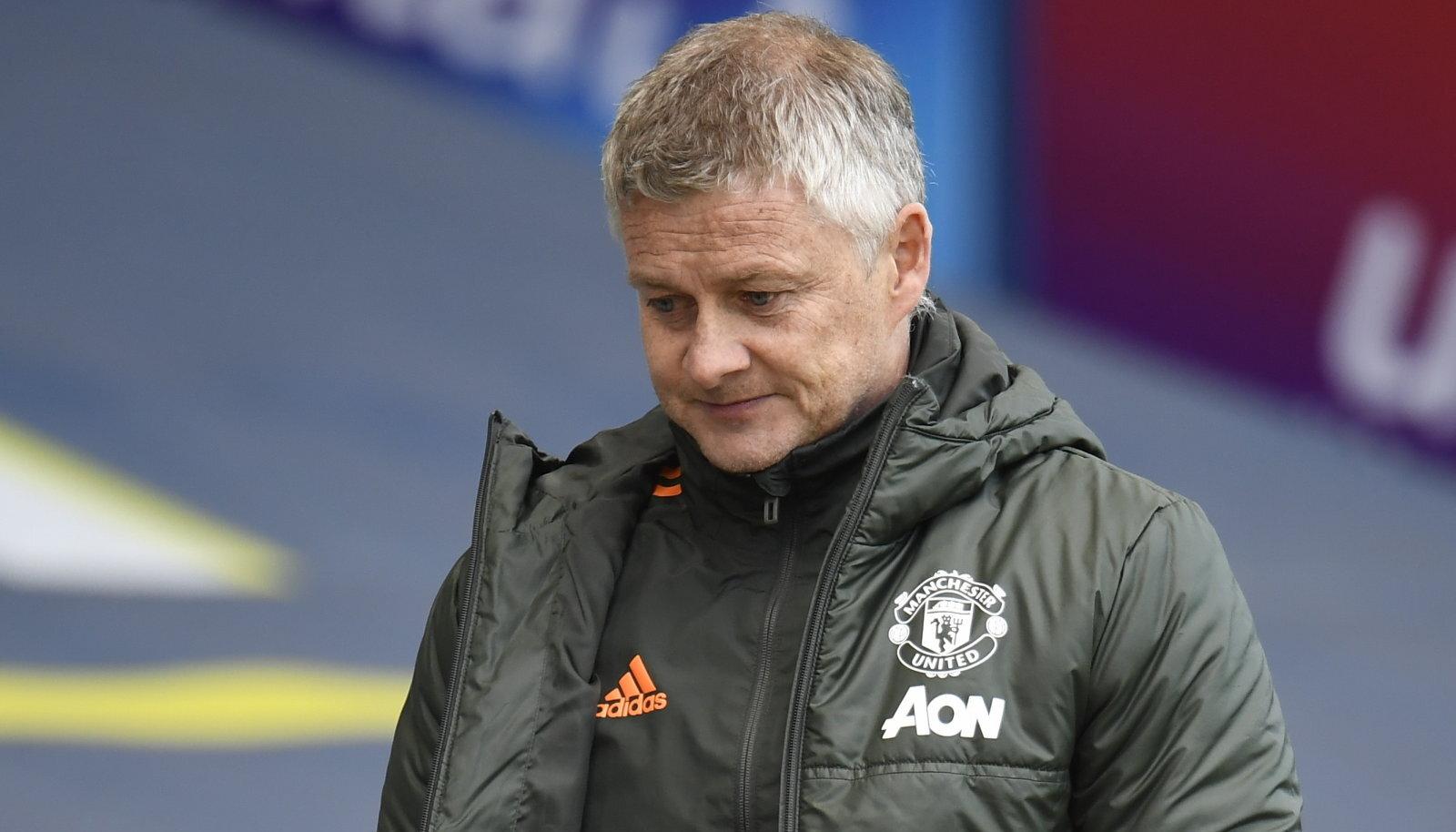 Manchester Unitedi peatreener Ole Gunnar Solskjaer