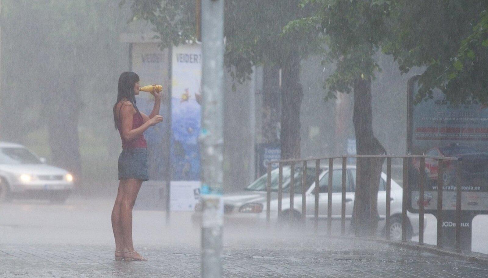 Sademete hulk on ületanud tavalise kuu keskmise normi