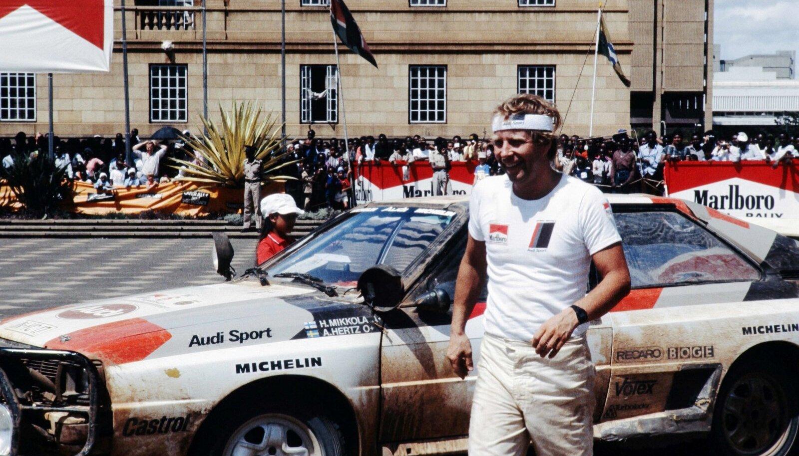 Hannu Mikkola ja tema legendaarne Audi Quattro