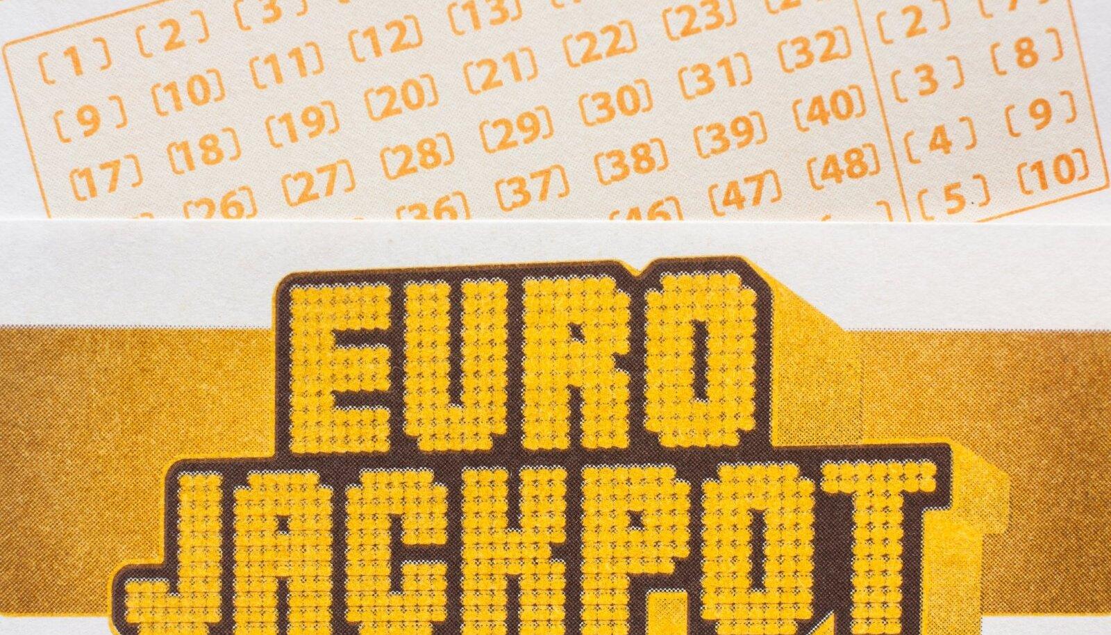 Eurojackpot tõi ühte Eestimaa kodusse täna suure võidu.