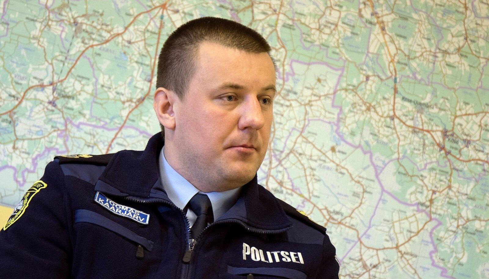 Politsei- ja Piirivalveamet,Toomas Kaarjärv Tallinna kordoni juht