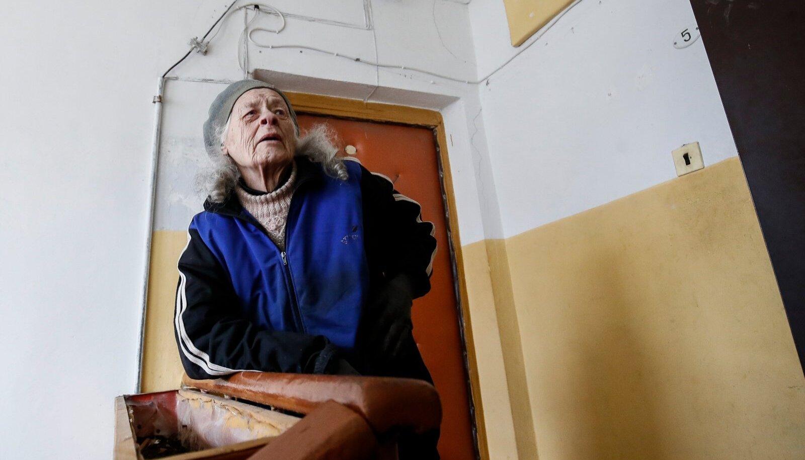 Amanda Veret on Sompas samas korteris elanud 60 aastat.