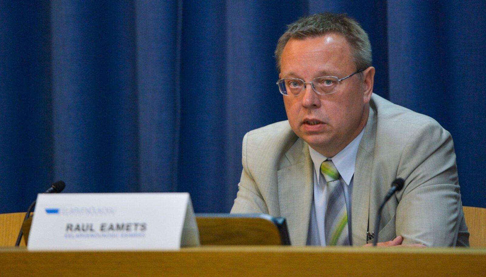 Eelarvenõukogu esimees Raul Eamets.