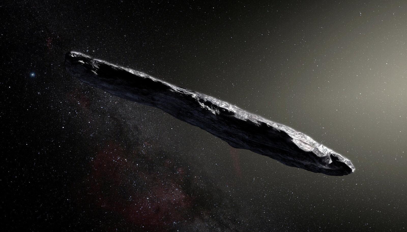 Kunstniku nägemus Oumuamuast.