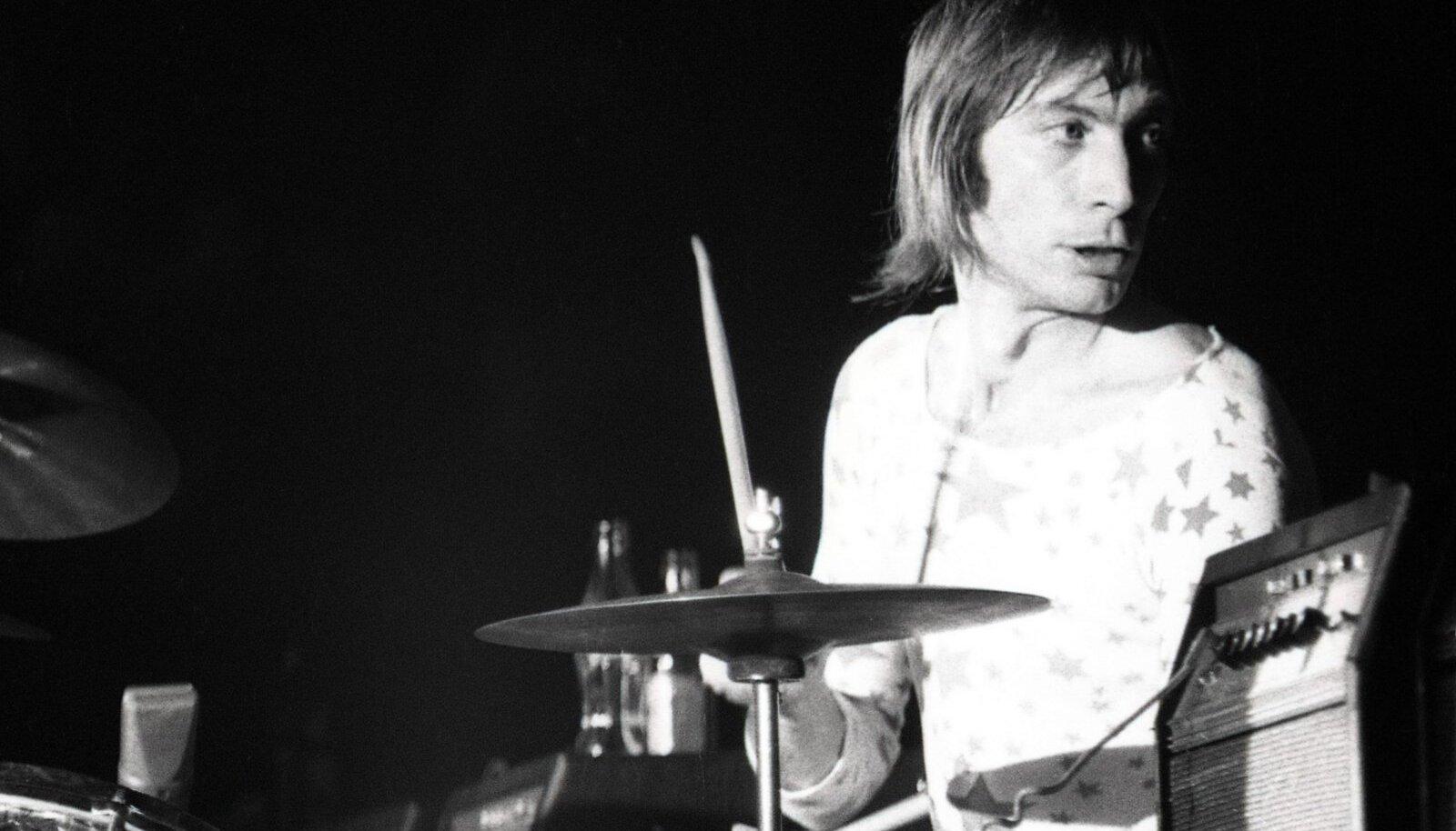 DŽÄSSISÕBER: Charlie Watts 1970. aastal kontserdil Pariisis.