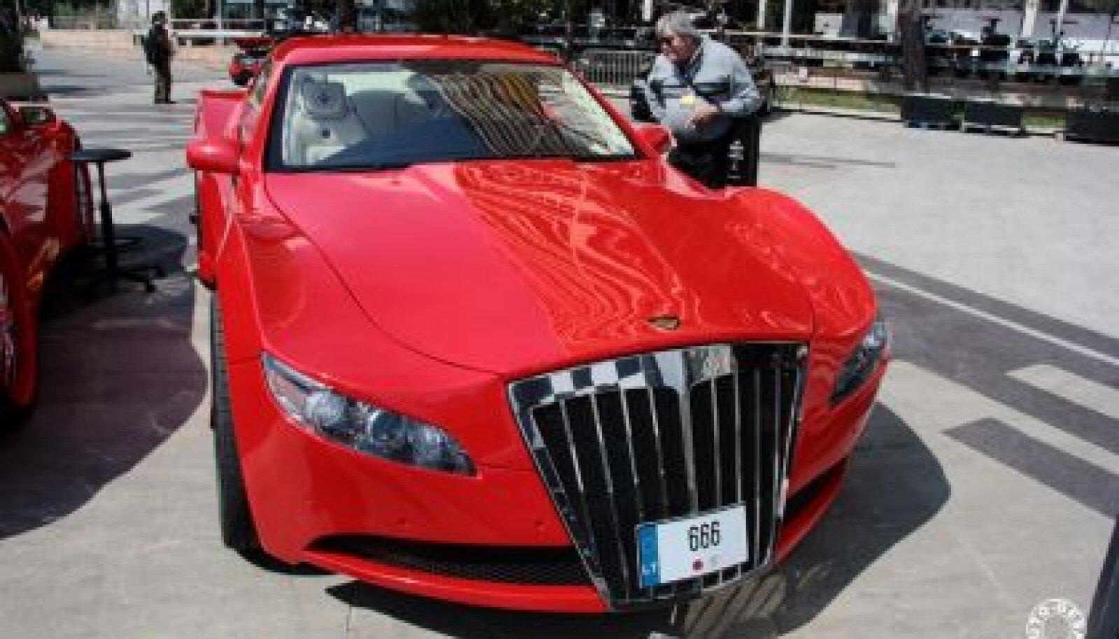 Литовский суперкар AG Excalibur вызывает смешанные чувства