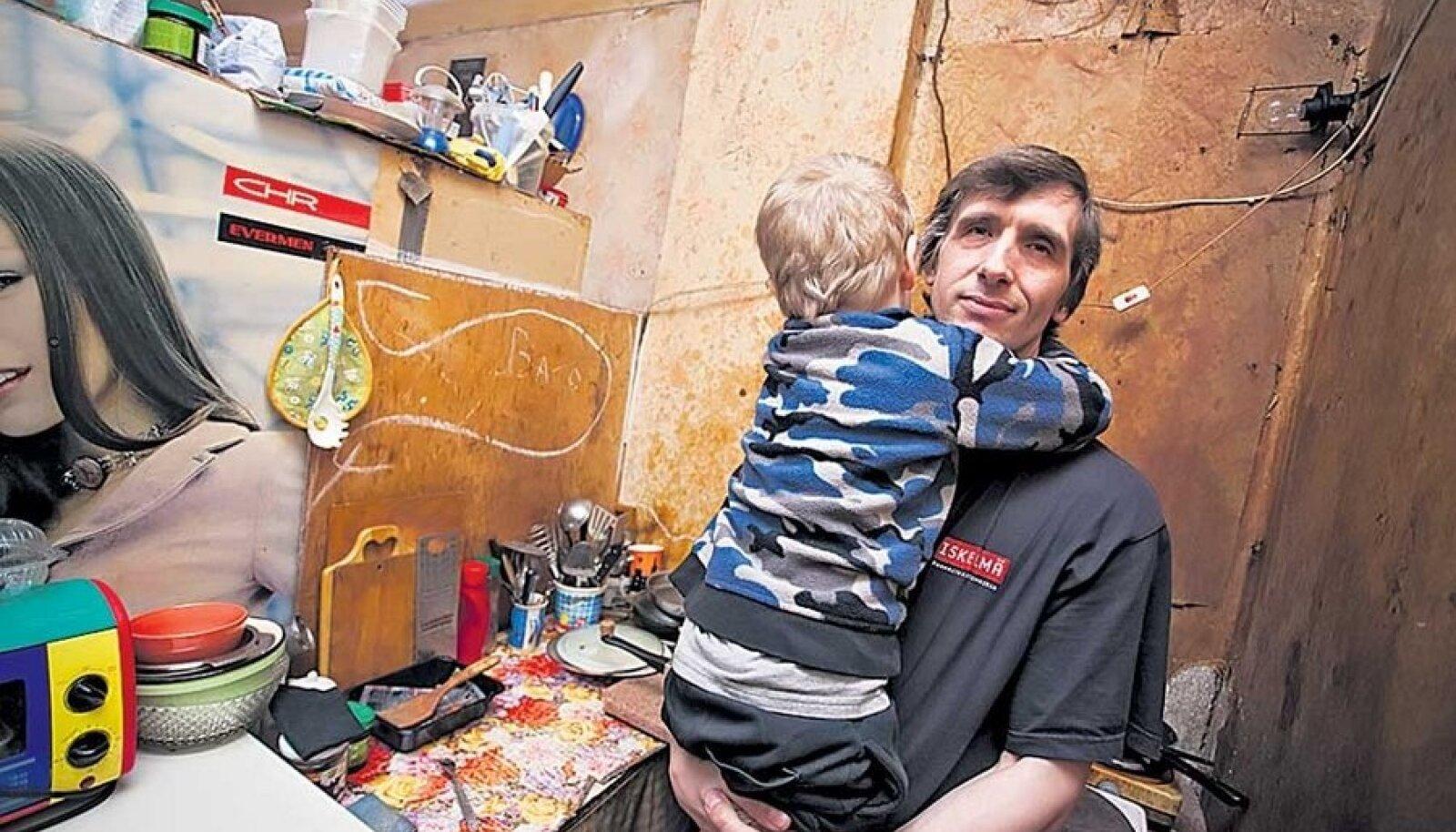 Sergei ütleb, et on lapse tervise ja arengu pärast mures.