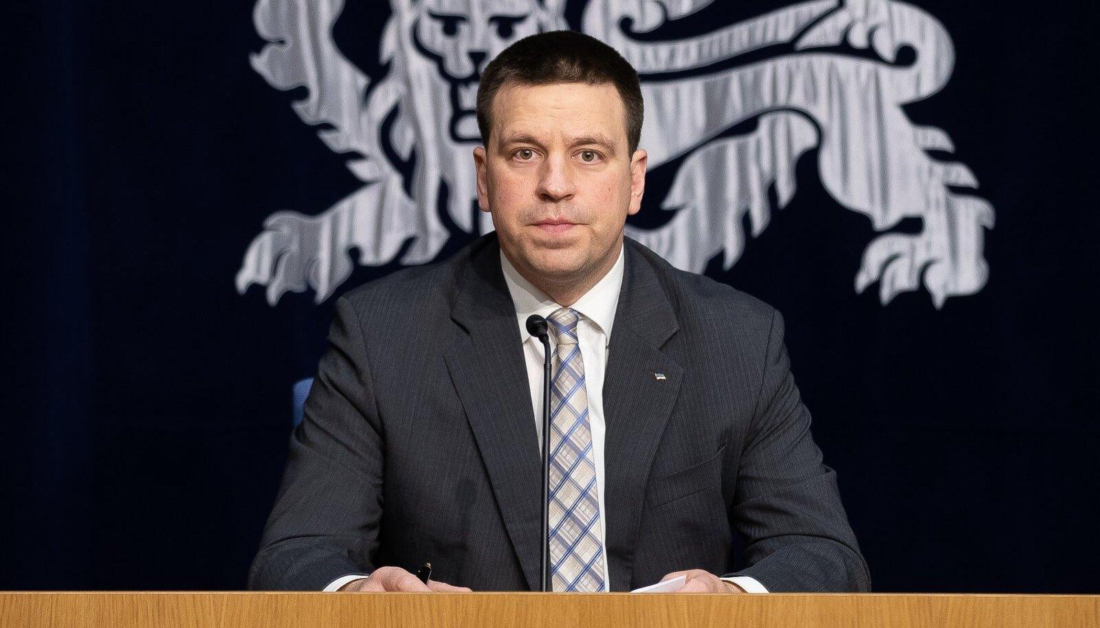 Tallinn, 26.03.2020. Valitsuse pressikonverents ühendministeeriumis