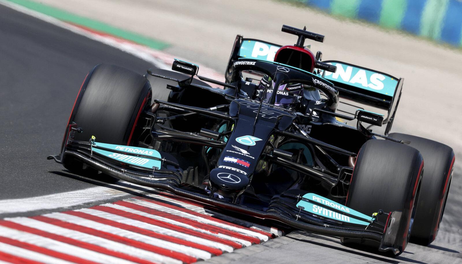 Lewis Hamilton Ungari GP-l