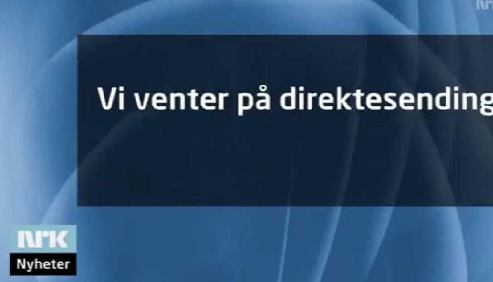 Otseülekande ootuses NRK