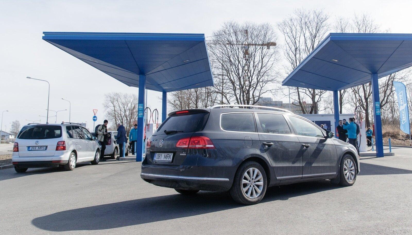 Tasuta kütuse jagamine