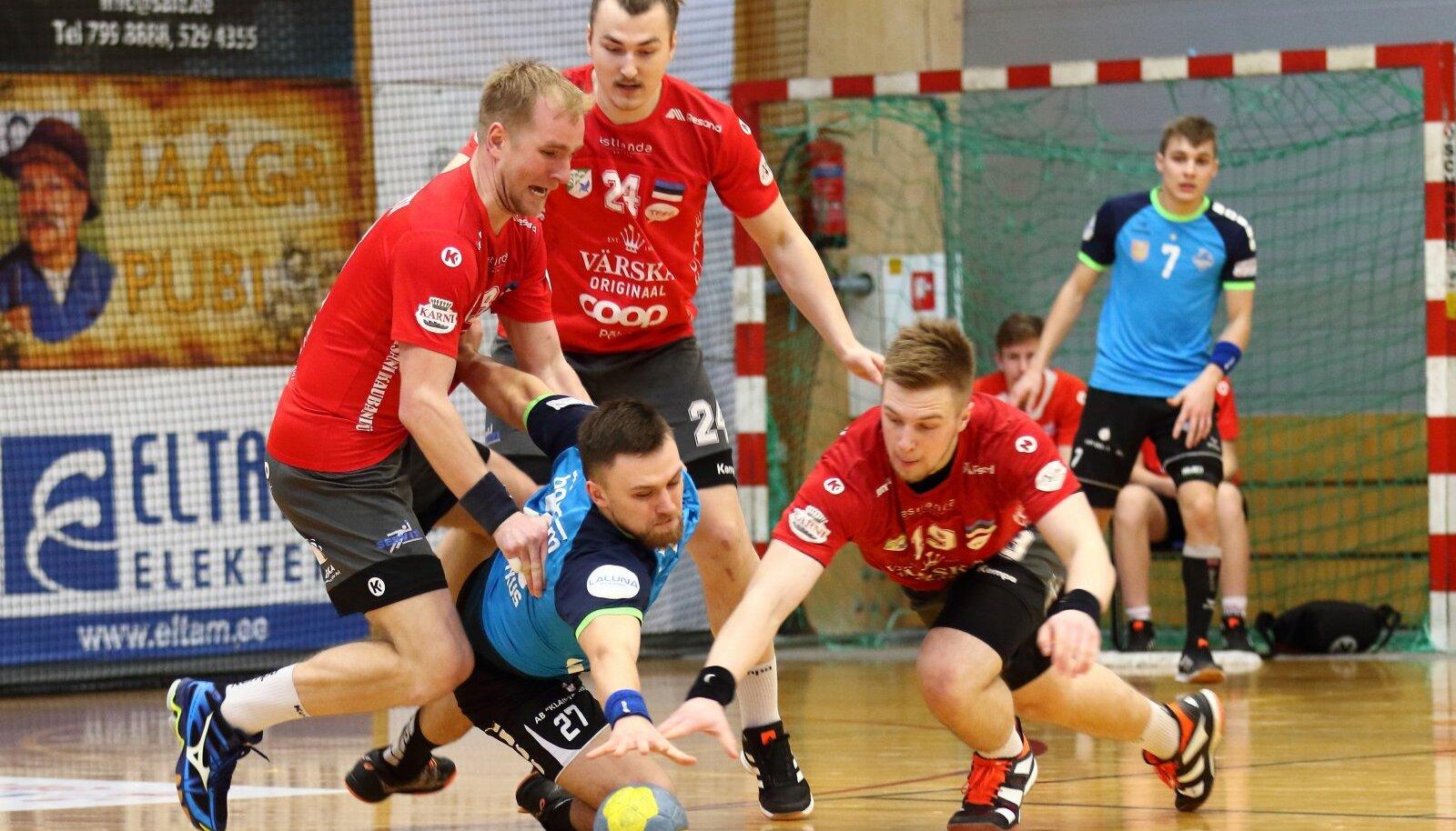Võitlust oli Põlva Serviti ja Klaipeda Dragunase vahelises Balti liiga veerandfinaalis enam kui küll.