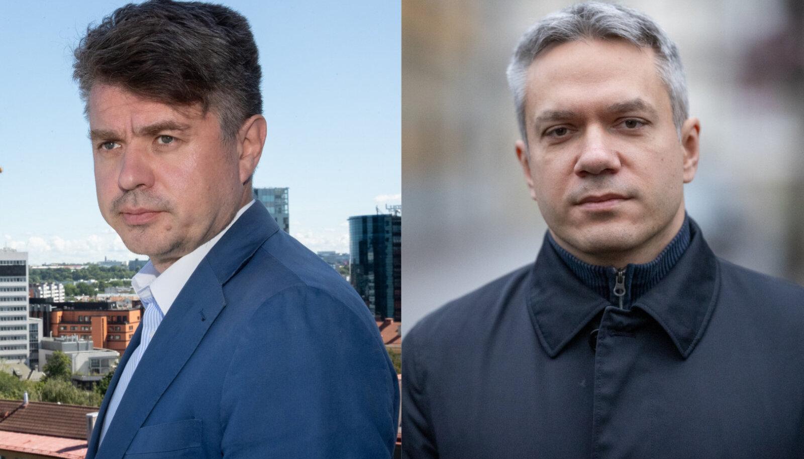 Urmas Reinsalu ja Andrei Korobeinik