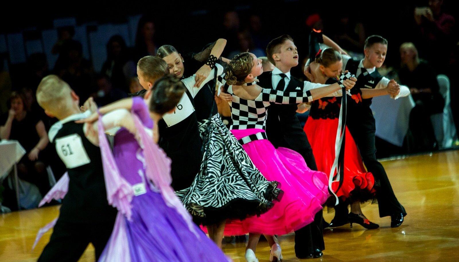 Pilt on illustratiivne. 10 tantsu Eesti meistrivõistlused