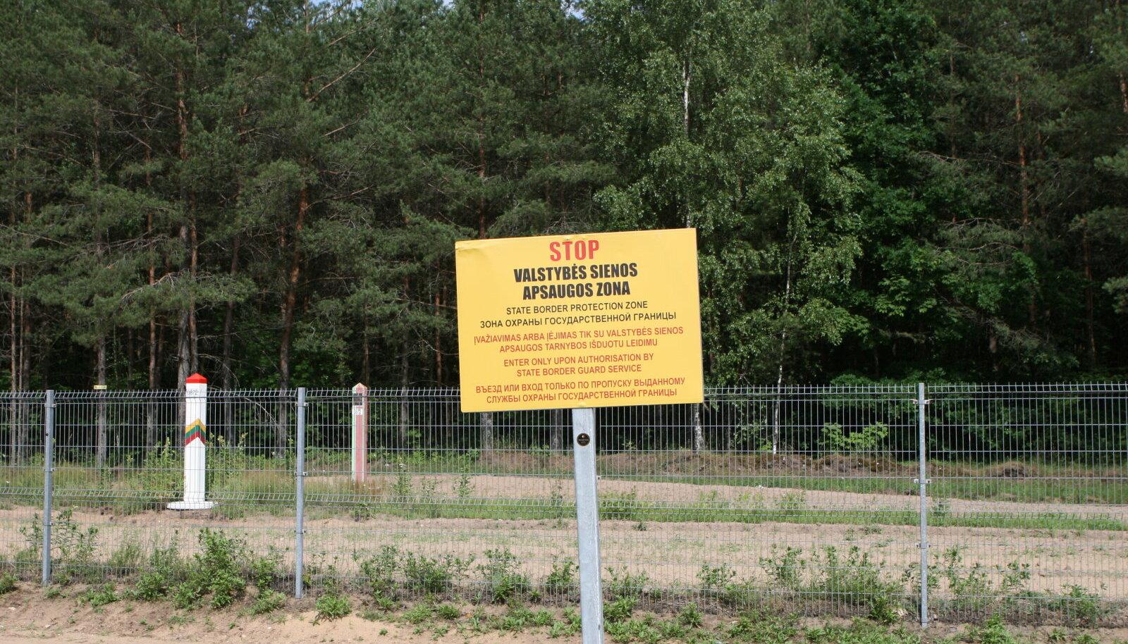 Leedu-Valgevene piir.
