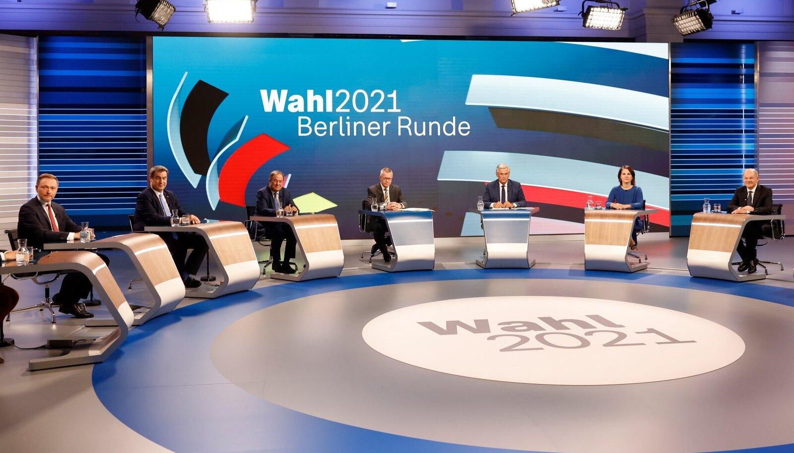 Berliner Runde: Saksa parteiliidrite traditsiooniline valimistejärgne telearutelu