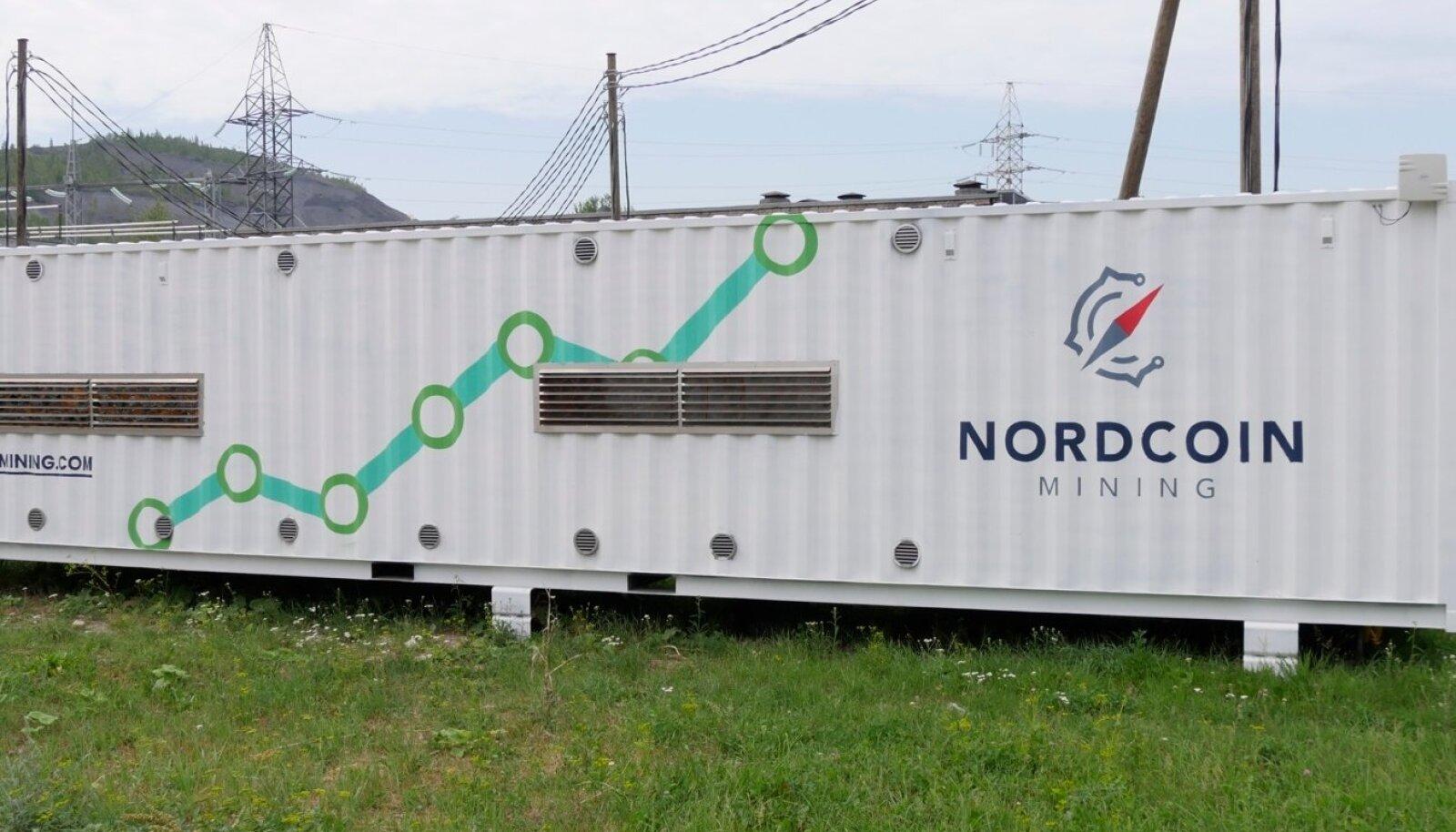 NordCoin Miningu konteiner