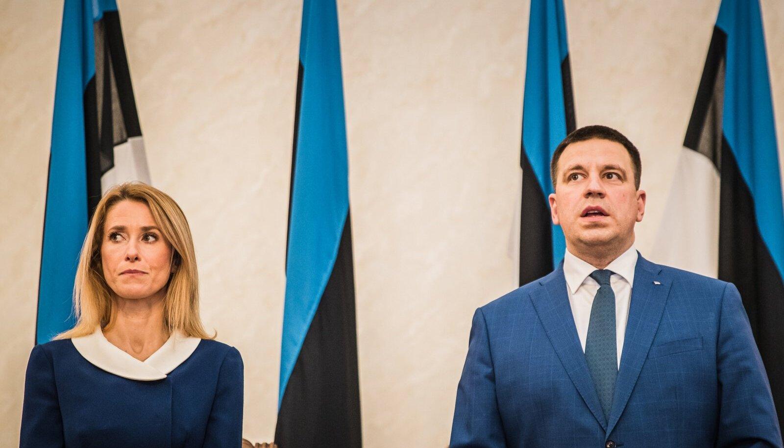 Koalitsioonilepingu allkirjastamine 25.01.2021