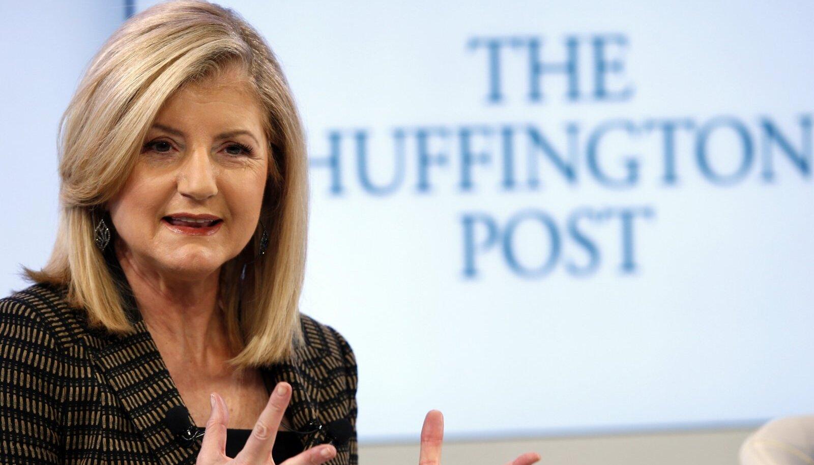 Arianna Huffington on mitme meedia- ja tehnoloogiaettevõtte juhatuses
