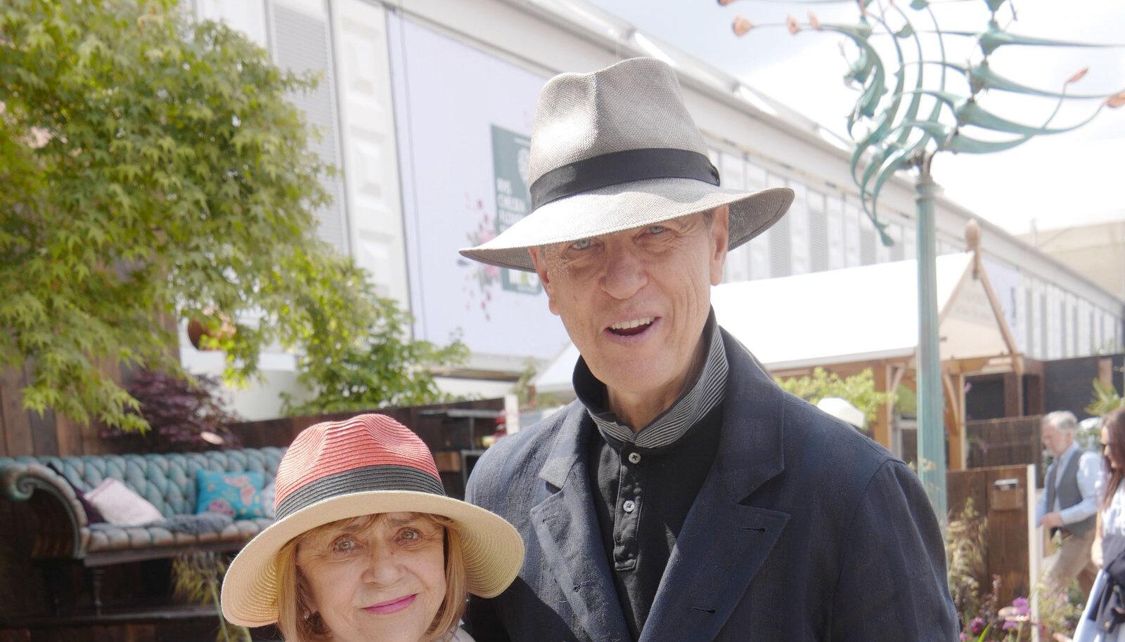 Joan Washington ja Richard E. Grant, 2019