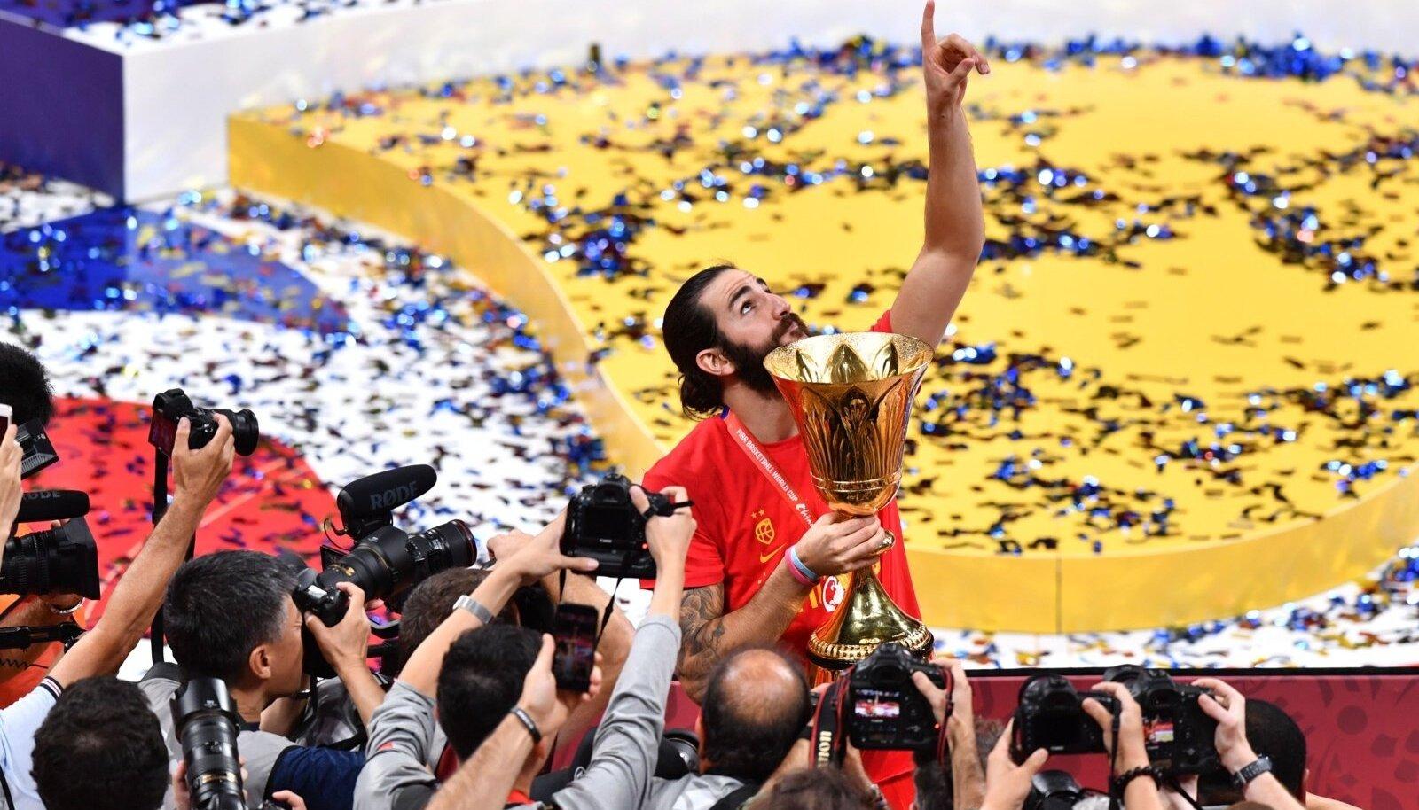 Ricky Rubio tegi elu parima turniiri ja pälvis lisaks MM-tiitlile ka kõige väärtuslikuma mängija autasu.
