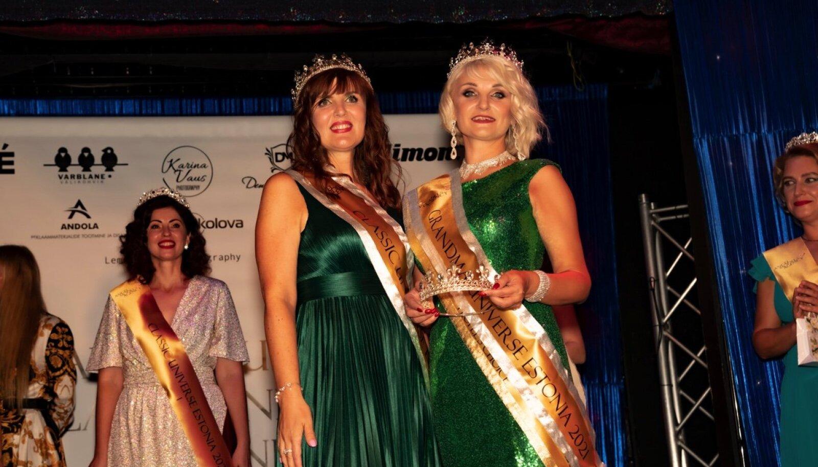 Первая красавица 45+ - Classic Universe Estonia 2021 - Ольга Нигровская и самая красивая бабушка Эстонии - Grandma Universe Estonia 2021 - Наталья Фишер