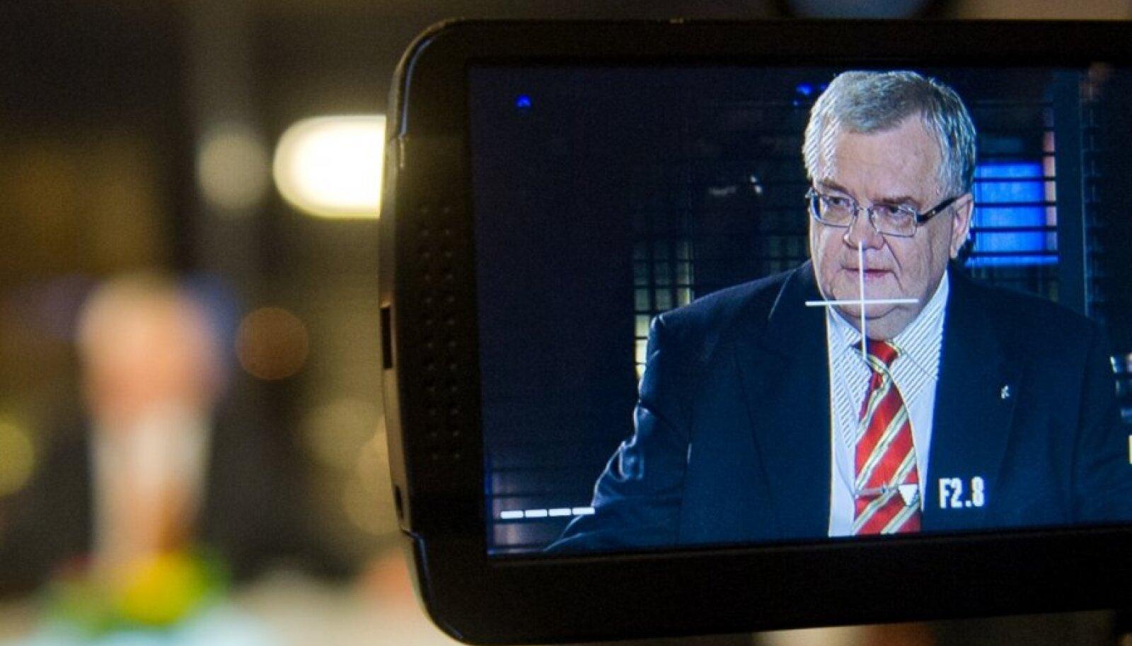 Edgar Savisaar ja Arvo Sarapuu Tallinna TVs
