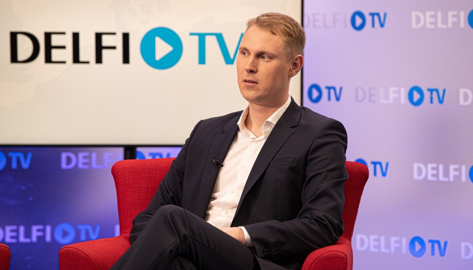 Raimond Kaljulaid Delfi valimisstuudios