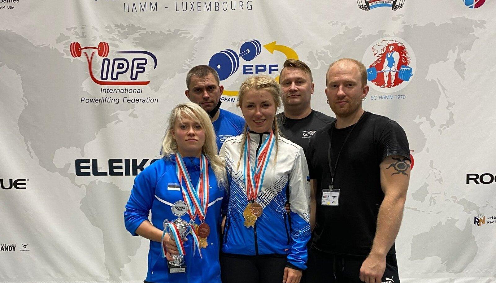 Eesti koondis Luksemburgis.