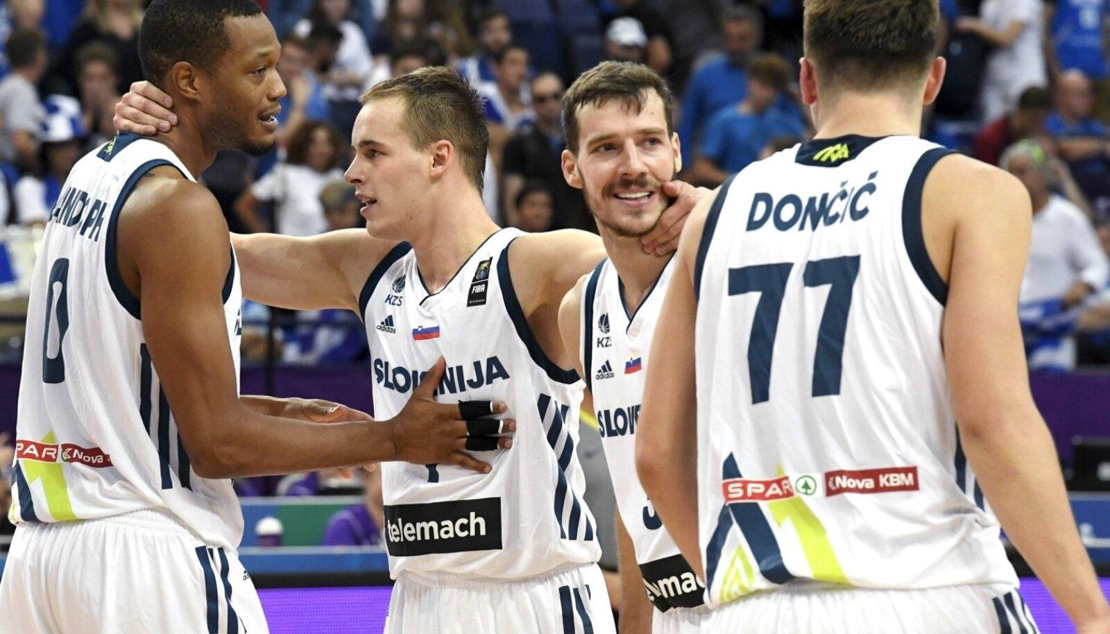 Sloveenia meeskond on näidanud väga tugevat vaimu.