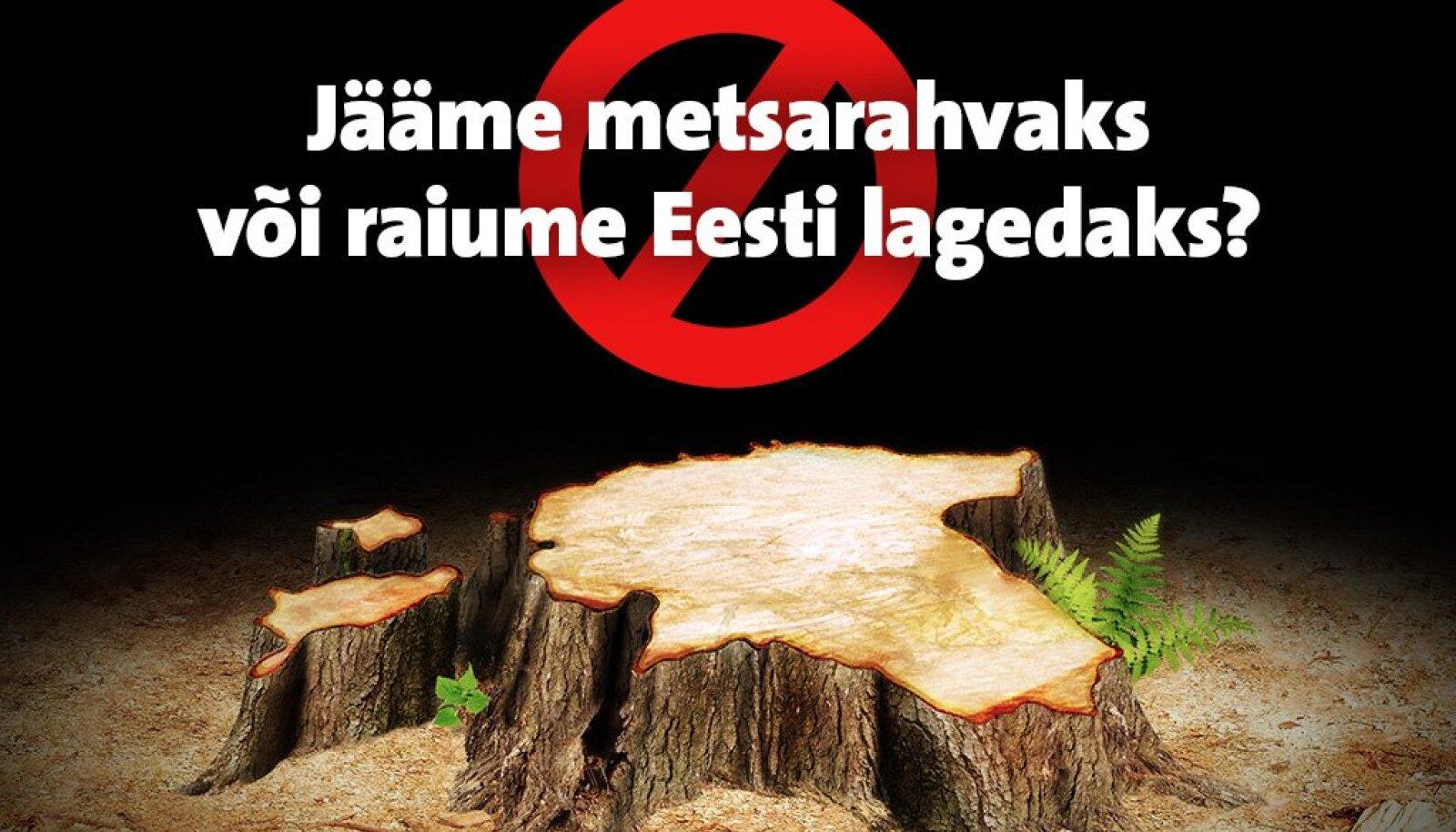 Looduskaitsjad leiavad, et uus metsandusseadus on liiga jõuline.