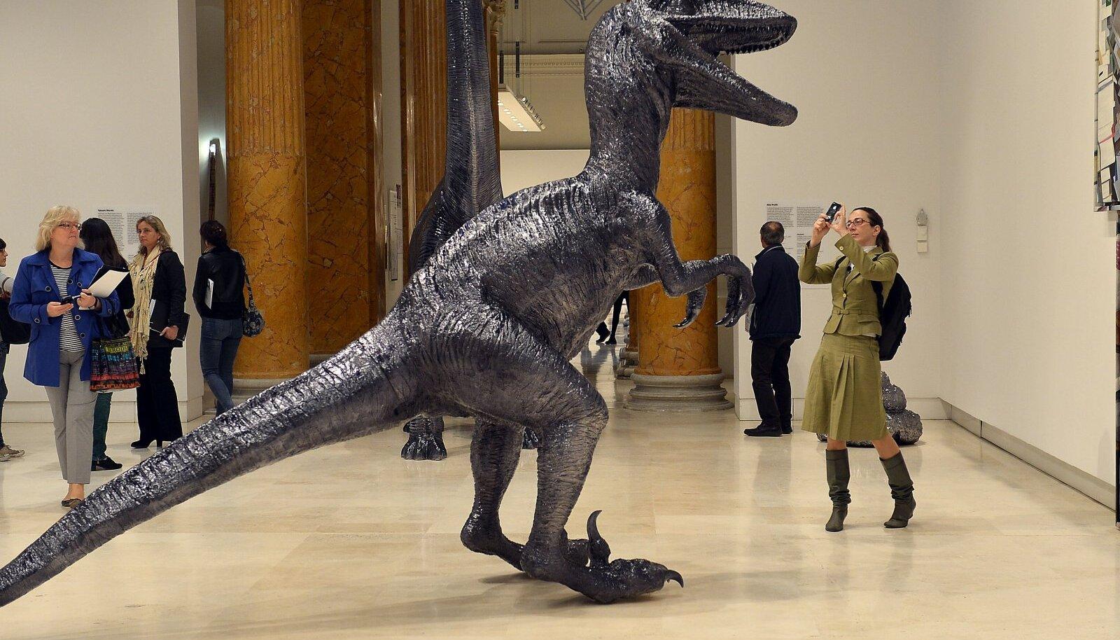 Ameerika Ühendriikide kunstniku Rob Pruitti nägemus Velociraptorist