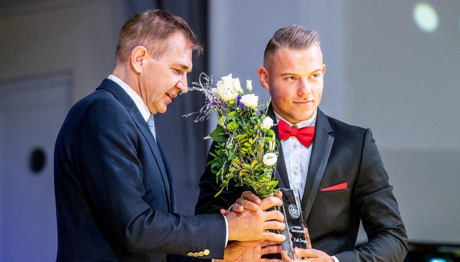Erik Sorga valiti 2019. aasta parimaks juunioriks.