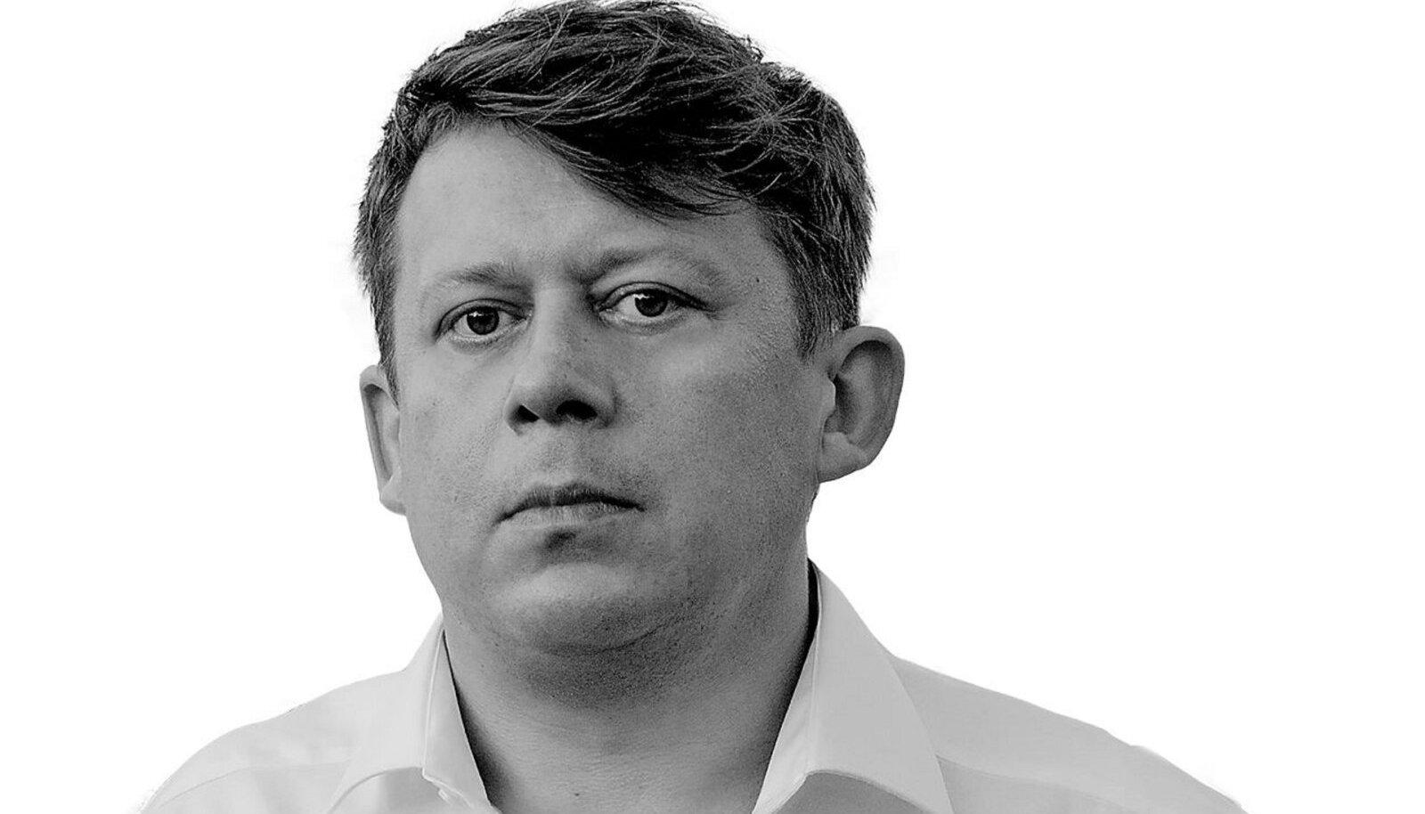 Eesti Ekspressi ajakirjanik Krister Kivi.