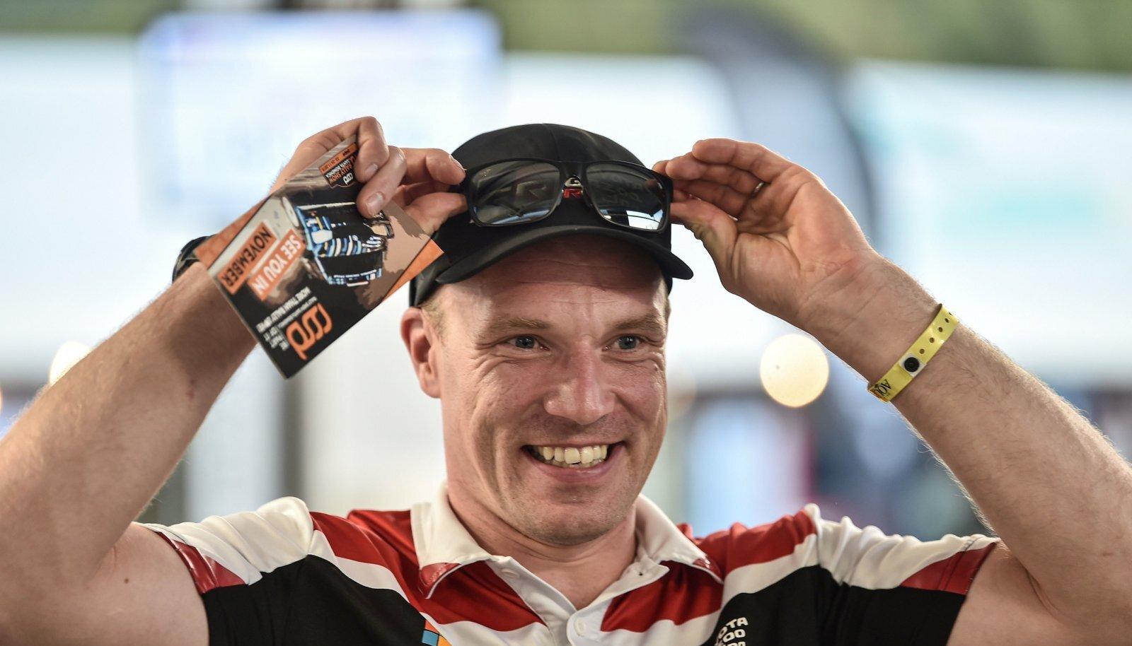Jari-Matti Latvala jäi avakatsega rahule.