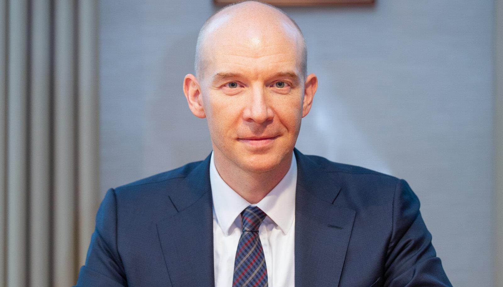 Eesti Panga president ja Euroopa Keskpanga nõukogu liige Madis Müller