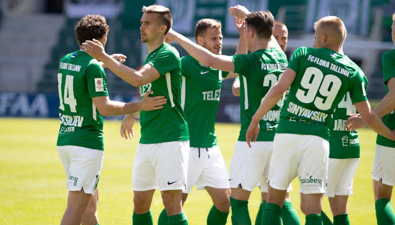 FC Flora jalgpallurid