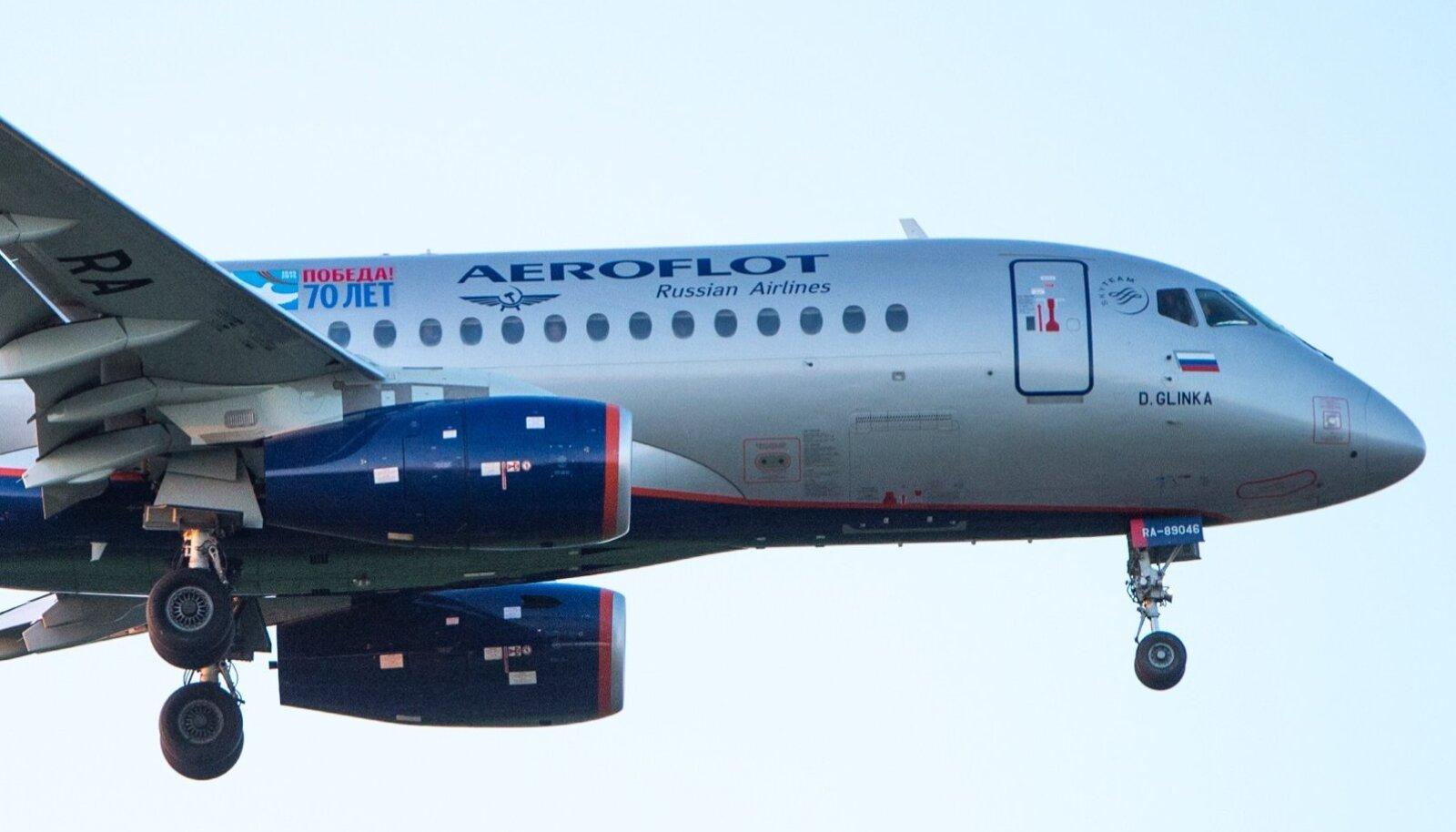 Aerofloti lennuk.