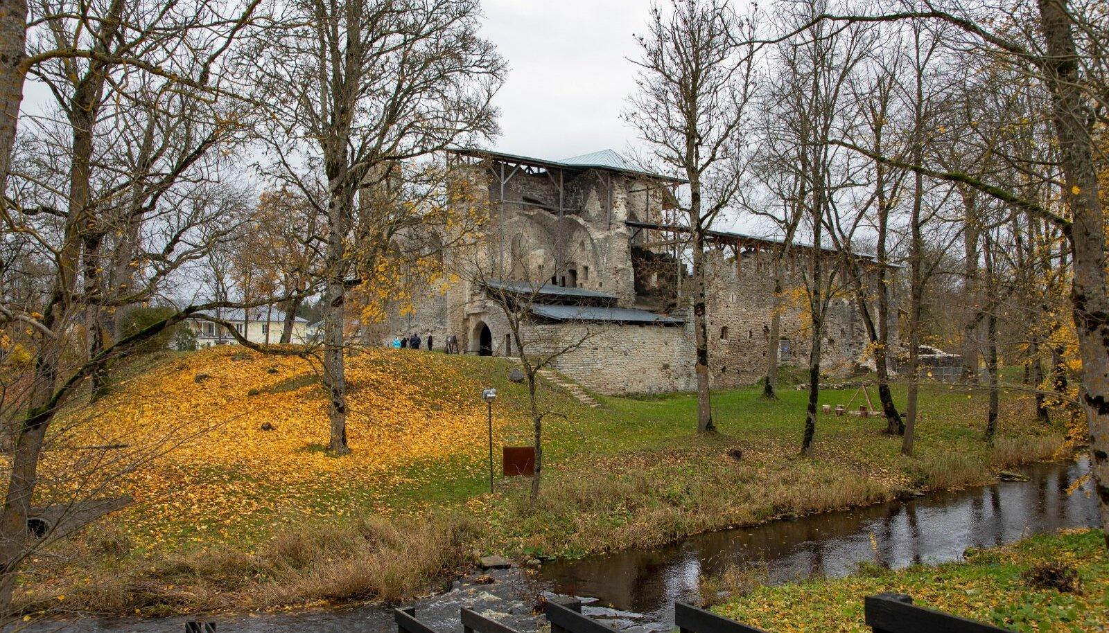 Padise klooster 2020. aasta sügisel
