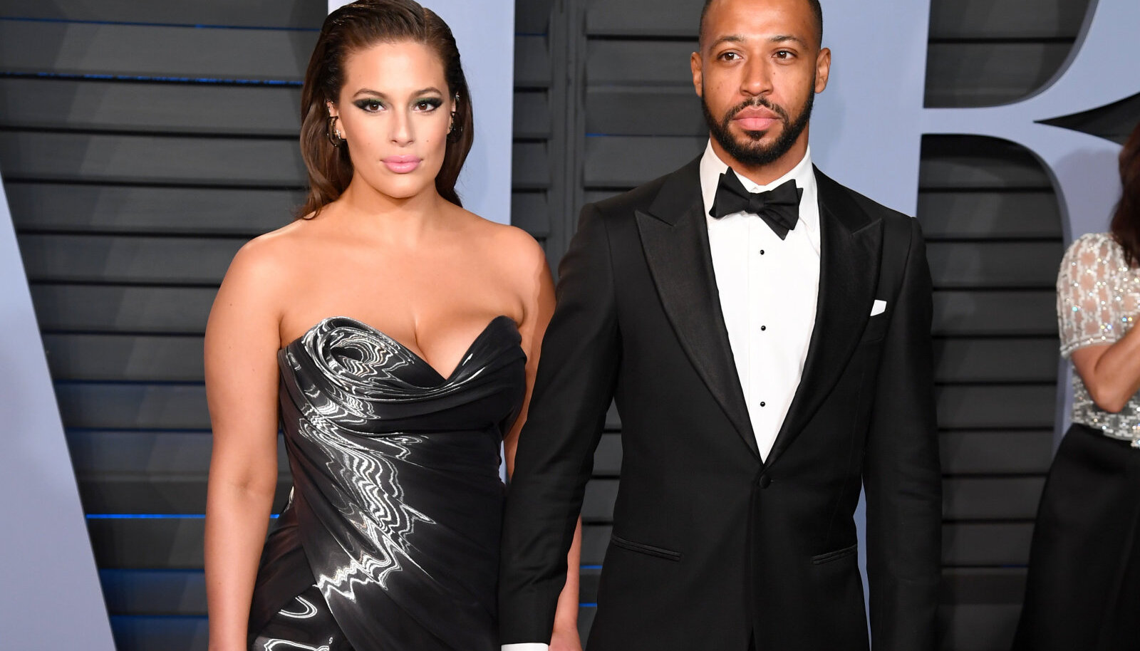Ashley Graham ja Justin Ervin