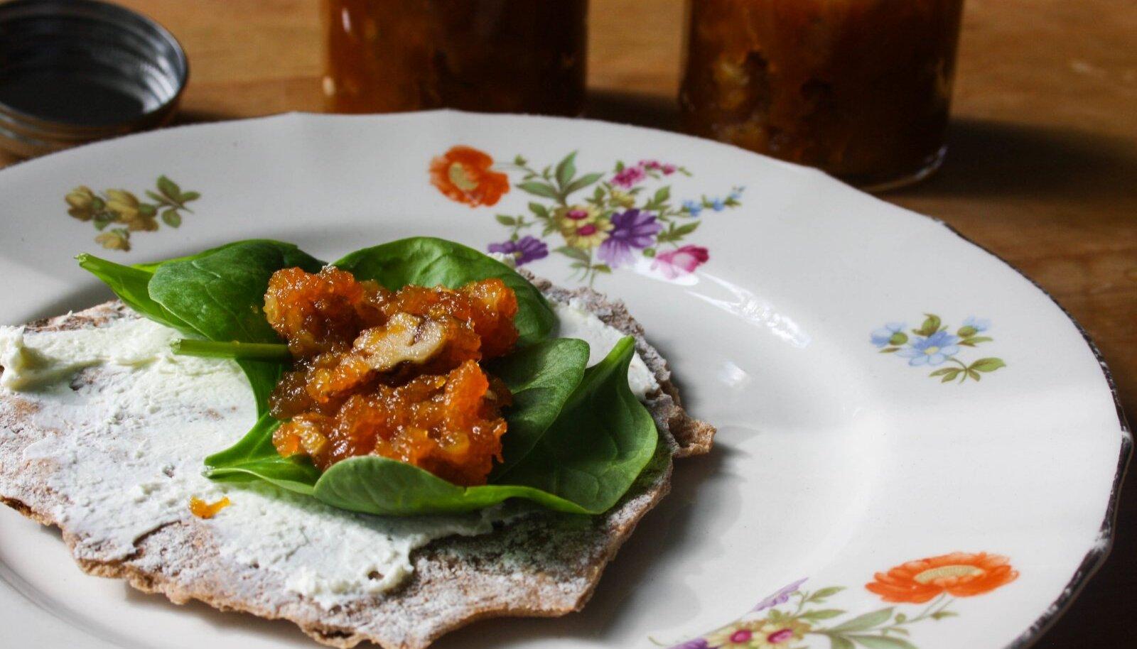 Porgandi-punase sõstra marmelaad