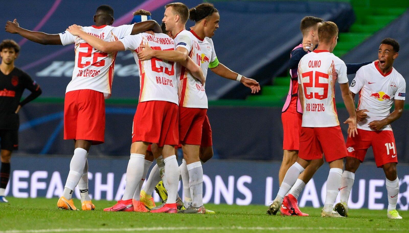 RB Leipzig jõudis klubi ajaloos esmakordselt Meistrite liigas poolfinaali.