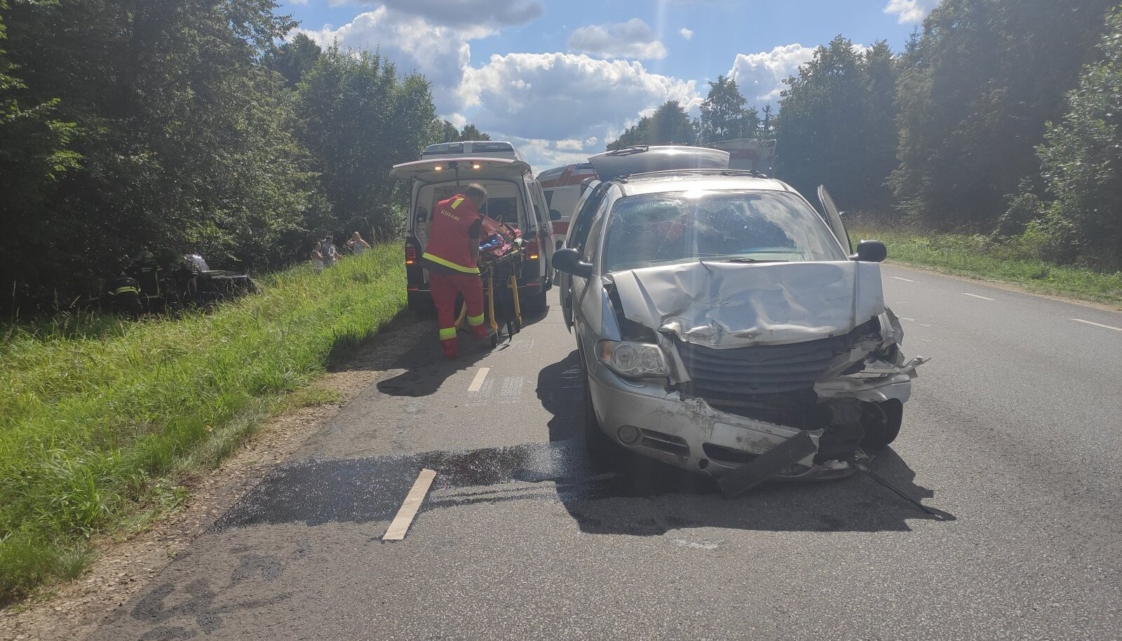 Liiklusõnnetus Tartumaal